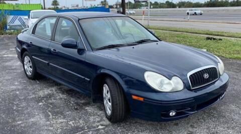 2004 Hyundai Sonata for sale at Cobalt Cars in Atlanta GA