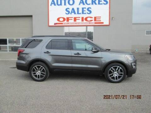 2017 Ford Explorer for sale at Auto Acres in Billings MT
