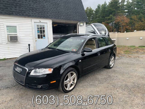 2007 Audi A4 for sale at J & E AUTOMALL in Pelham NH