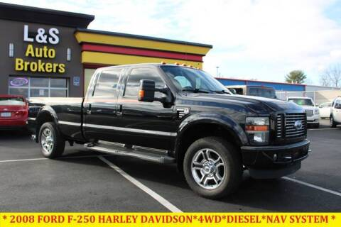 2008 Ford F-250 Super Duty for sale at L & S AUTO BROKERS in Fredericksburg VA