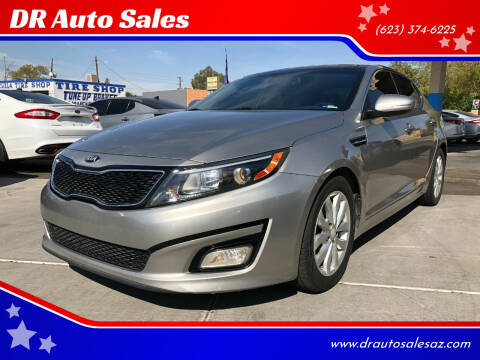 2015 Kia Optima for sale at DR Auto Sales in Glendale AZ