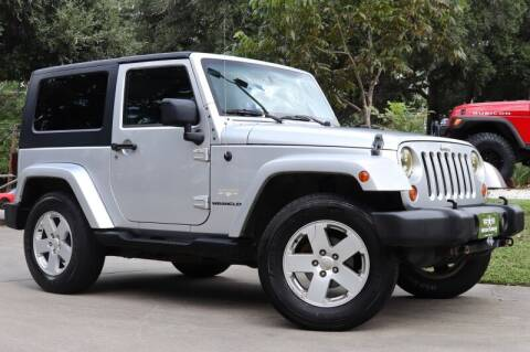 2007 Jeep Wrangler for sale at SELECT JEEPS INC in League City TX