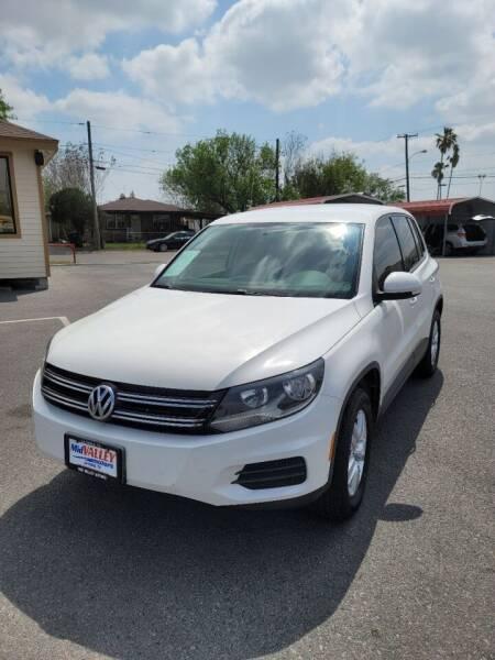 2012 Volkswagen Tiguan for sale at Mid Valley Motors in La Feria TX
