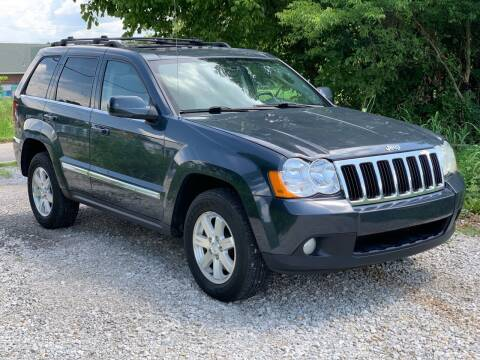 2008 Jeep Grand Cherokee for sale at Tennessee Valley Wholesale Autos LLC in Huntsville AL