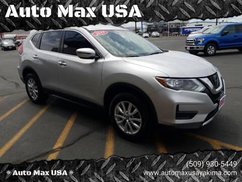 2018 Nissan Rogue for sale at Auto Max USA in Yakima WA