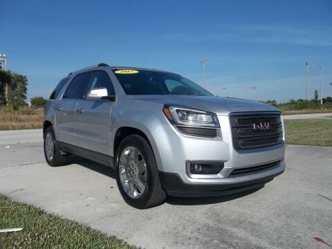2017 GMC Acadia Limited for sale at DELRAY AUTO MALL in Delray Beach FL