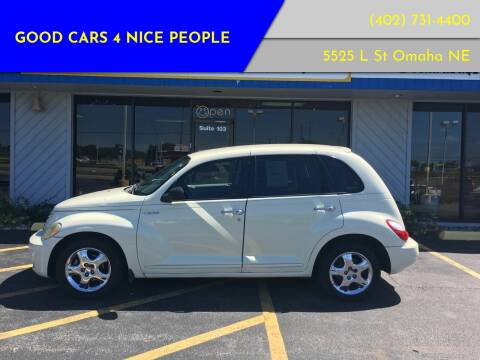 2006 Chrysler PT Cruiser for sale at Good Cars 4 Nice People in Omaha NE