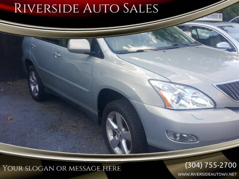2004 Lexus RX 330 for sale at Riverside Auto Sales in Saint Albans WV