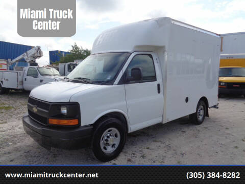 2014 Chevrolet Express Cutaway for sale at Miami Truck Center in Hialeah FL