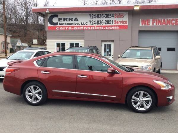 2013 Nissan Altima for sale at Cerra Automotive LLC in Greensburg PA