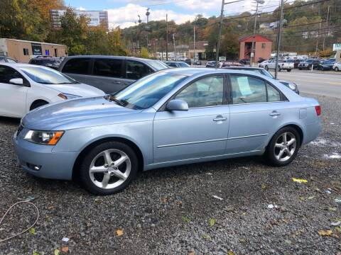 2007 Hyundai Sonata for sale at Compact Cars of Pittsburgh in Pittsburgh PA