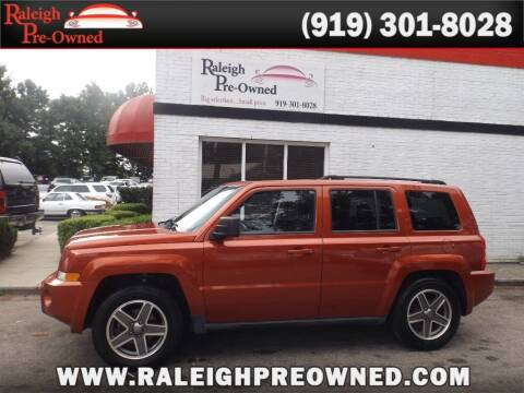 2010 Jeep Patriot for sale at Raleigh Pre-Owned in Raleigh NC
