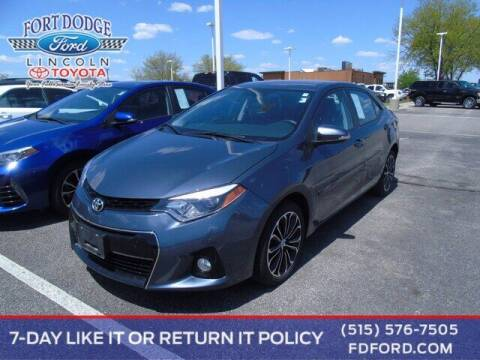2015 Toyota Corolla for sale at Fort Dodge Ford Lincoln Toyota in Fort Dodge IA