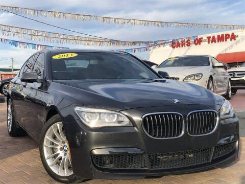 2013 BMW 7 Series for sale at Cars of Tampa in Tampa FL