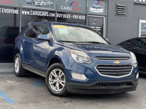 2017 Chevrolet Equinox for sale at CARUCARS LLC in Miami FL