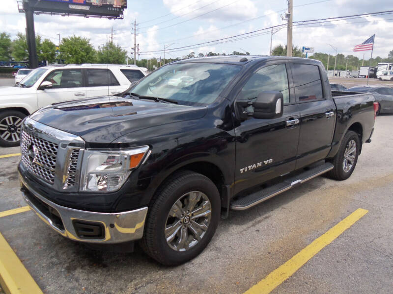 2019 Nissan Titan for sale at ORANGE PARK AUTO in Jacksonville FL