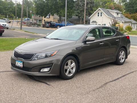 2014 Kia Optima for sale at Tonka Auto & Truck in Mound MN