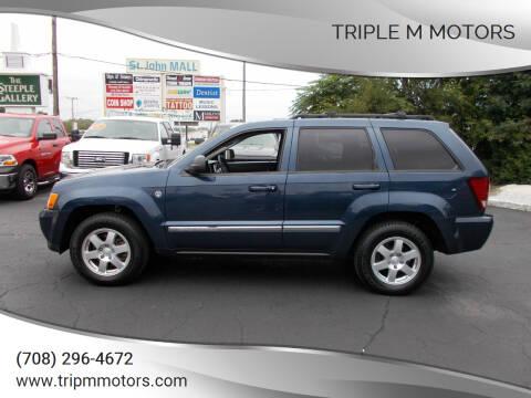 2010 Jeep Grand Cherokee for sale at Triple M Motors in Saint John IN