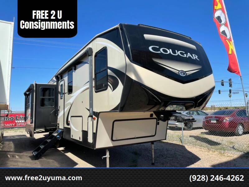 2019 Keystone Cougar for sale at FREE 2 U Consignments in Yuma AZ