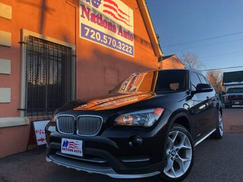 2015 BMW X1 for sale at Nations Auto Inc. II in Denver CO