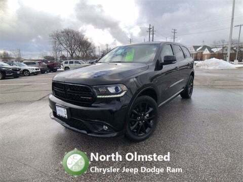 2017 Dodge Durango for sale at North Olmsted Chrysler Jeep Dodge Ram in North Olmsted OH
