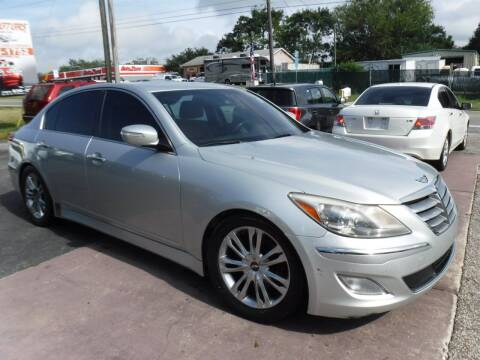 2012 Hyundai Genesis for sale at LEGACY MOTORS INC in New Port Richey FL