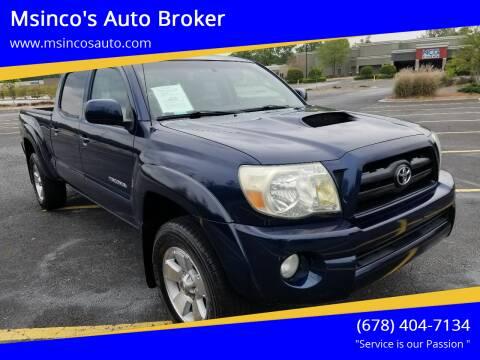 2006 Toyota Tacoma for sale at Msinco's Auto Broker in Snellville GA