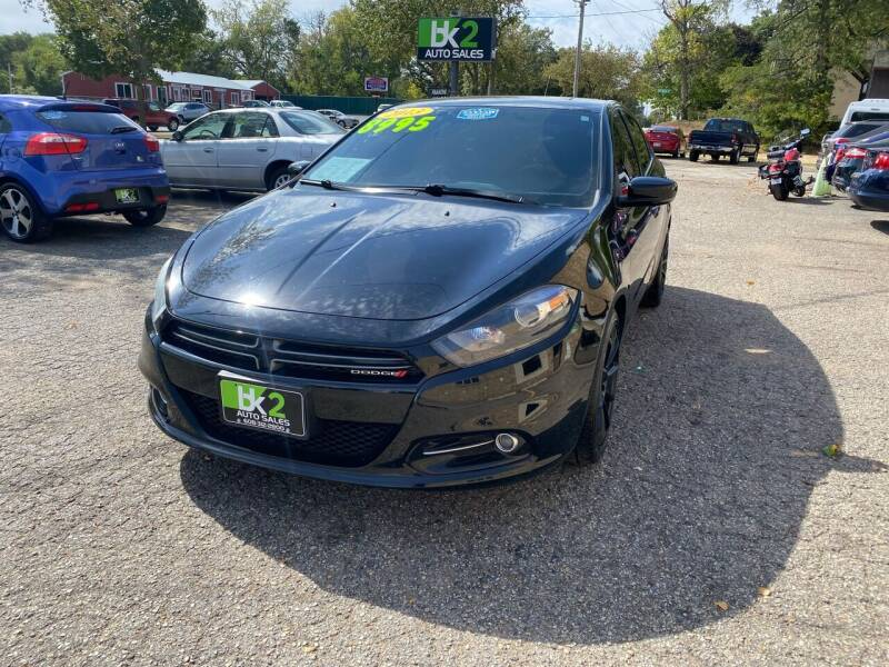 2013 Dodge Dart for sale at BK2 Auto Sales in Beloit WI