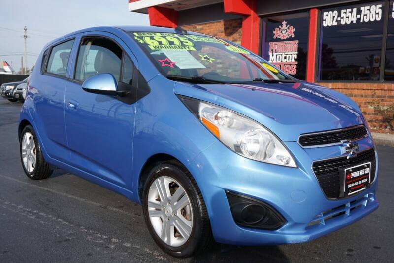 2013 Chevrolet Spark for sale at Premium Motors in Louisville KY