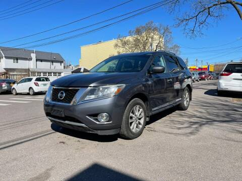 2013 Nissan Pathfinder for sale at Kapos Auto, Inc. in Ridgewood, Queens NY
