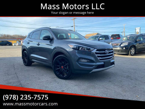 2017 Hyundai Tucson for sale at Mass Motors LLC in Worcester MA