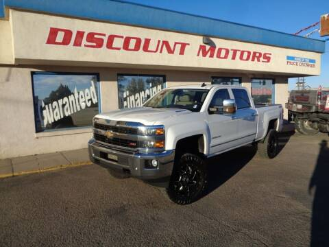 2016 Chevrolet Silverado 2500HD for sale at Discount Motors in Pueblo CO