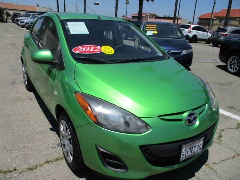 2012 Mazda MAZDA2 for sale at F & A Car Sales Inc in Ontario CA