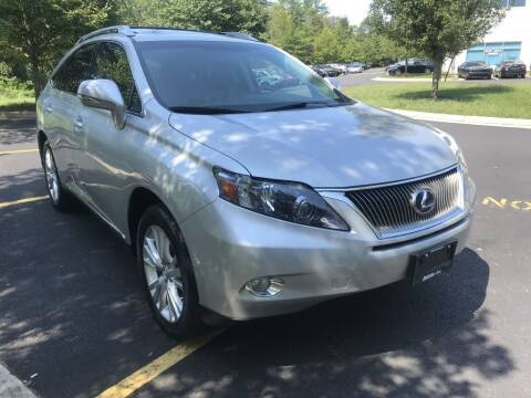 2011 Lexus RX 450h for sale at Dotcom Auto in Chantilly VA