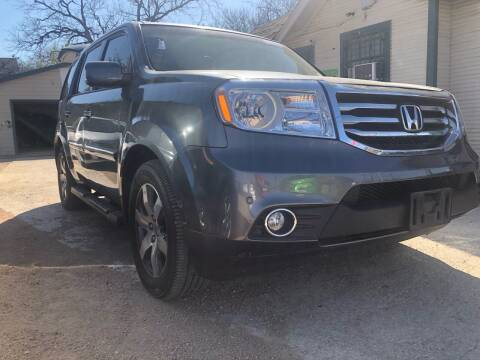 2012 Honda Pilot for sale at S & J Auto Group in San Antonio TX