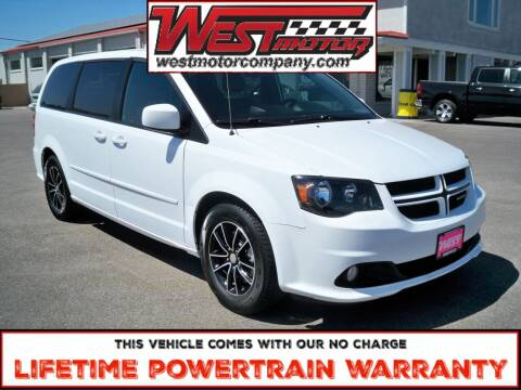 2016 Dodge Grand Caravan for sale at West Motor Company in Hyde Park UT