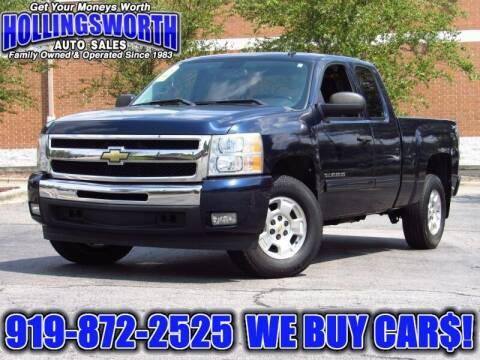 2011 Chevrolet Silverado 1500 for sale at Hollingsworth Auto Sales in Raleigh NC