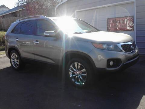 2011 Kia Sorento for sale at Marty's Auto Sales in Lenoir City TN