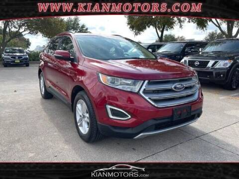 2017 Ford Edge for sale at KIAN MOTORS INC in Plano TX