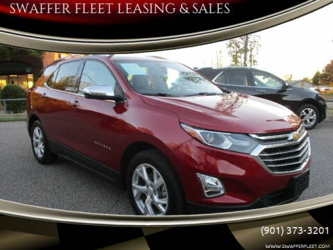 2019 Chevrolet Equinox for sale at SWAFFER FLEET LEASING & SALES in Memphis TN