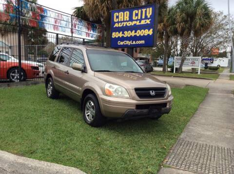 2004 Honda Pilot for sale at Car City Autoplex in Metairie LA
