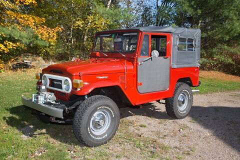 1975 Toyota Land Cruiser for sale at Essex Motorsport, LLC in Essex Junction VT