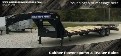 2020 Sure-Trac 15k Gooseneck 20' deckover for sale at Gaither Powersports & Trailer Sales in Linton IN