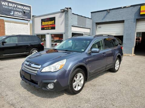 2014 Subaru Outback for sale at RENNSPORT Kansas City in Kansas City MO
