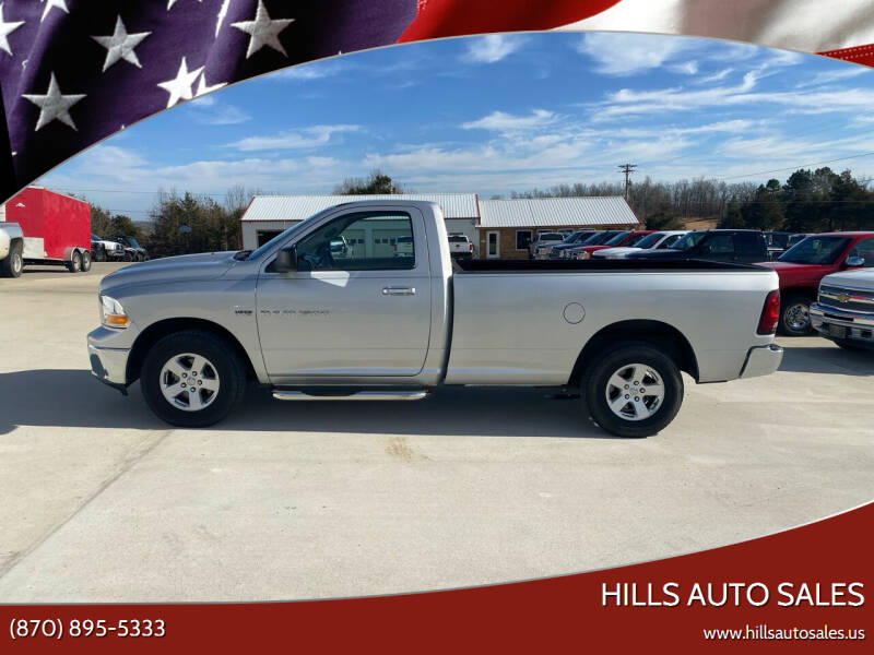 2011 RAM Ram Pickup 1500 for sale at Hills Auto Sales in Salem AR