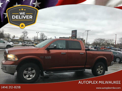 2013 RAM Ram Pickup 1500 for sale at Autoplex Milwaukee in Milwaukee WI