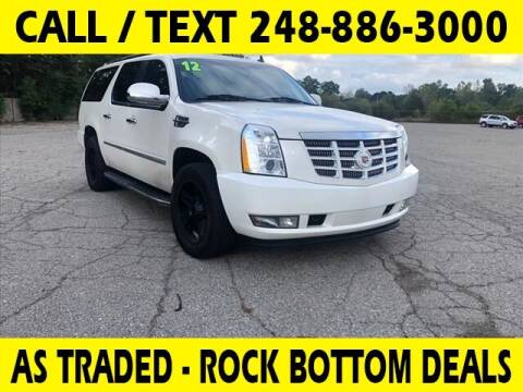 2012 Cadillac Escalade ESV for sale at Lasco of Waterford in Waterford MI