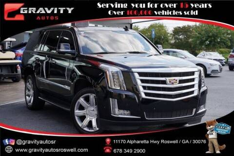 2019 Cadillac Escalade for sale at Gravity Autos Roswell in Roswell GA