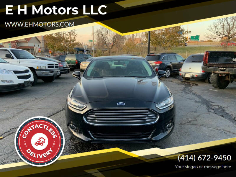 2016 Ford Fusion for sale at E H Motors LLC in Milwaukee WI