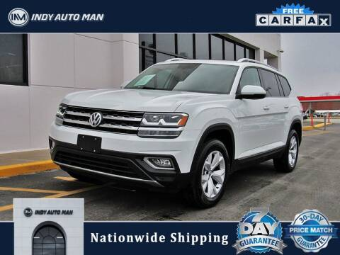 2019 Volkswagen Atlas for sale at INDY AUTO MAN in Indianapolis IN